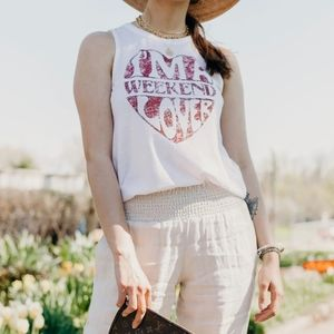 Chaser Weekend Lover Tank Top